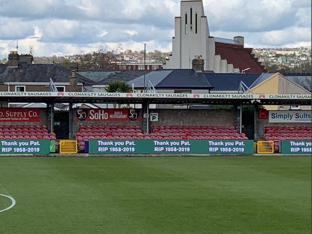 Turners Cross tribute to Pat McAuliffe R.I.P.
