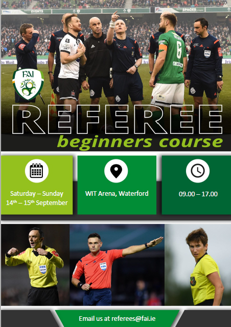 Referees Beginner Course